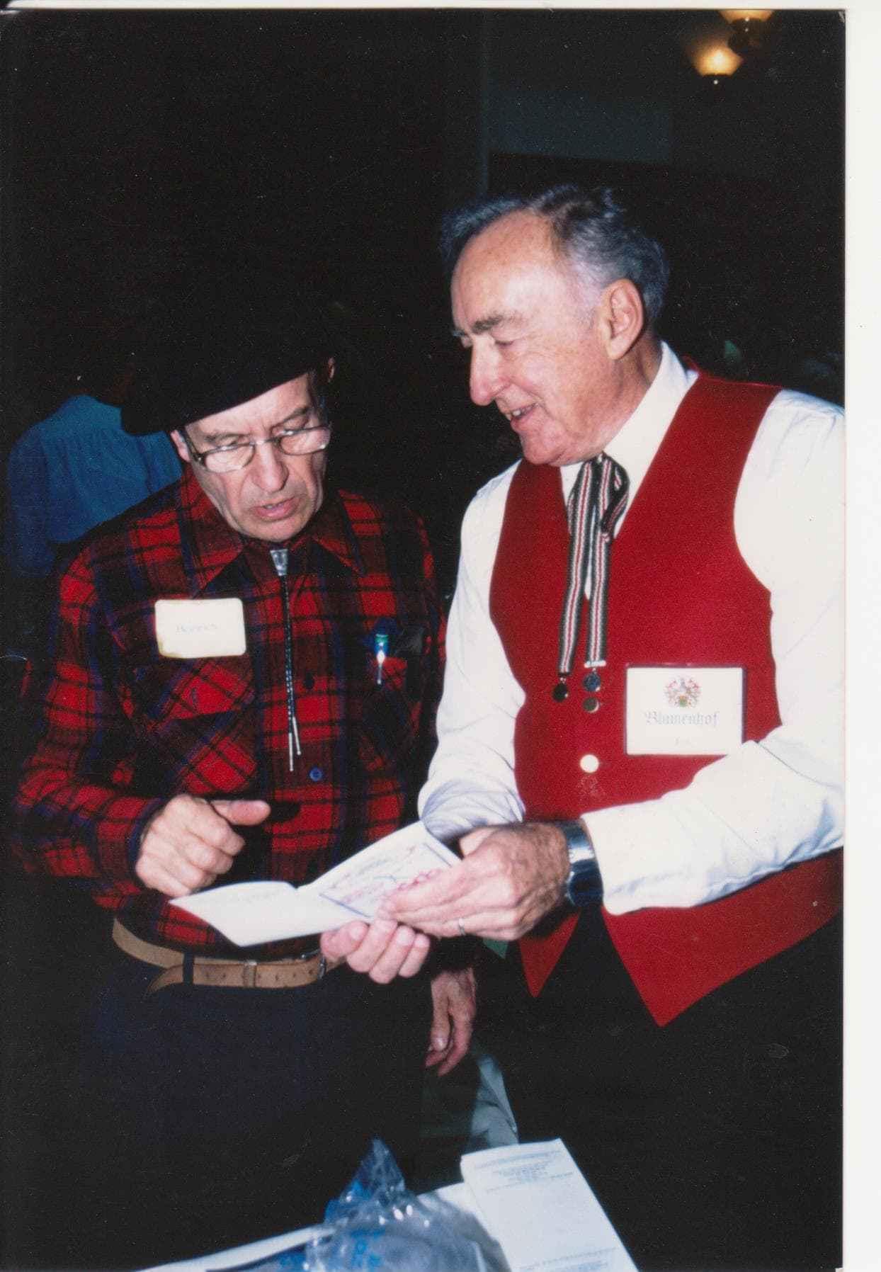 Jim Blumenberg and Heinrich