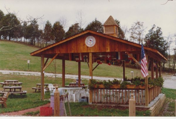 Blumenhof winery pavilion