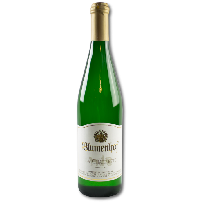 La Charrette - Semi Sweet White Wine at Blumenhof Winery