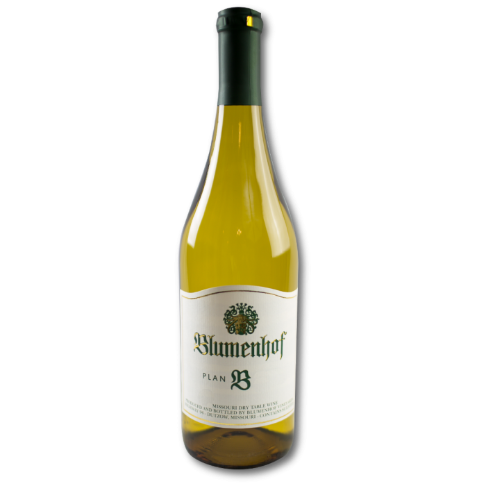 Plan B - Dry White Blend from Blumenhof Winery