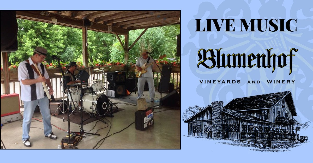 BagLunch Blues Band at Blumenhof Winery