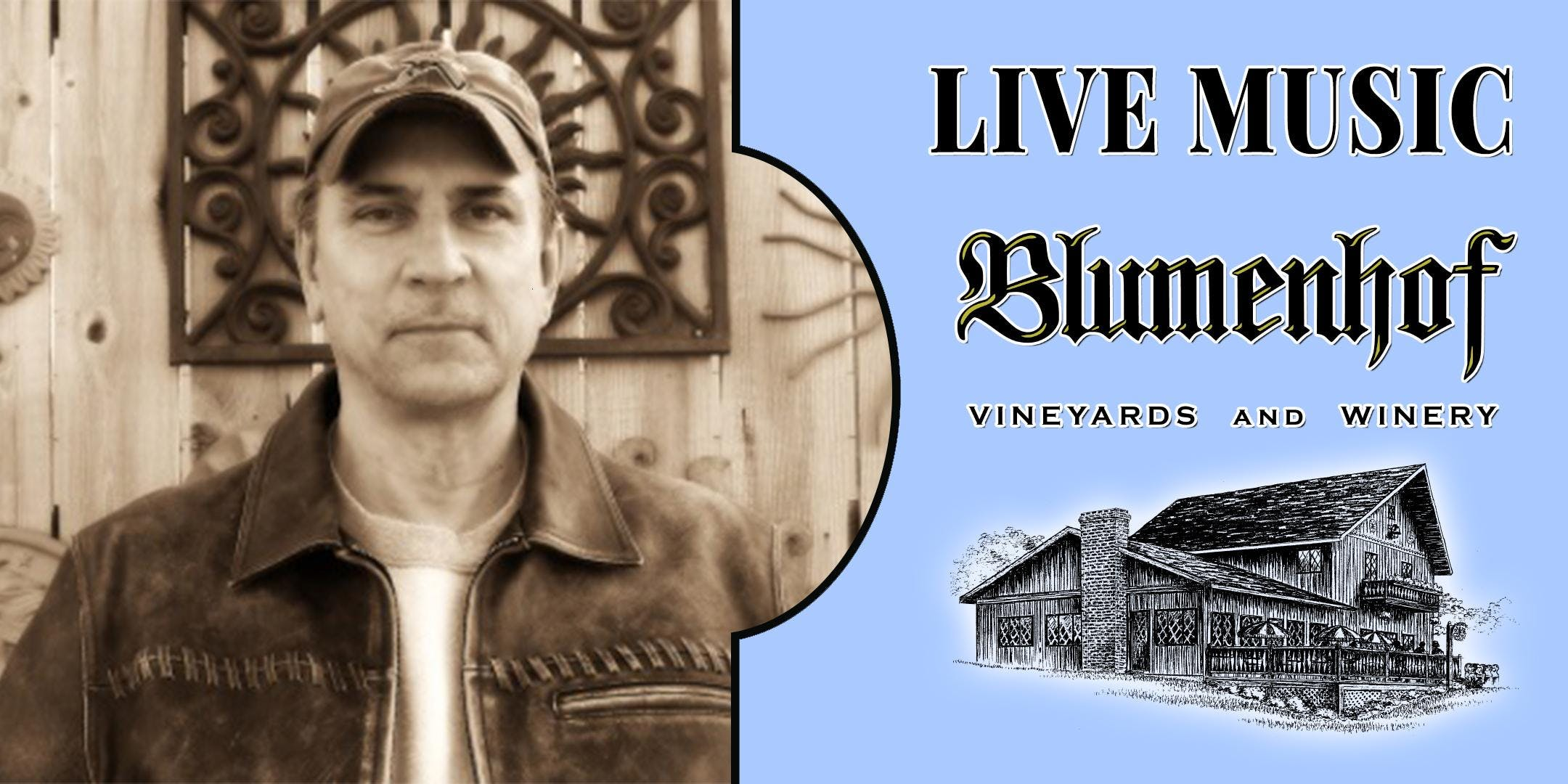 Mark Moebeck (classic rock) at Blumenhof Winery