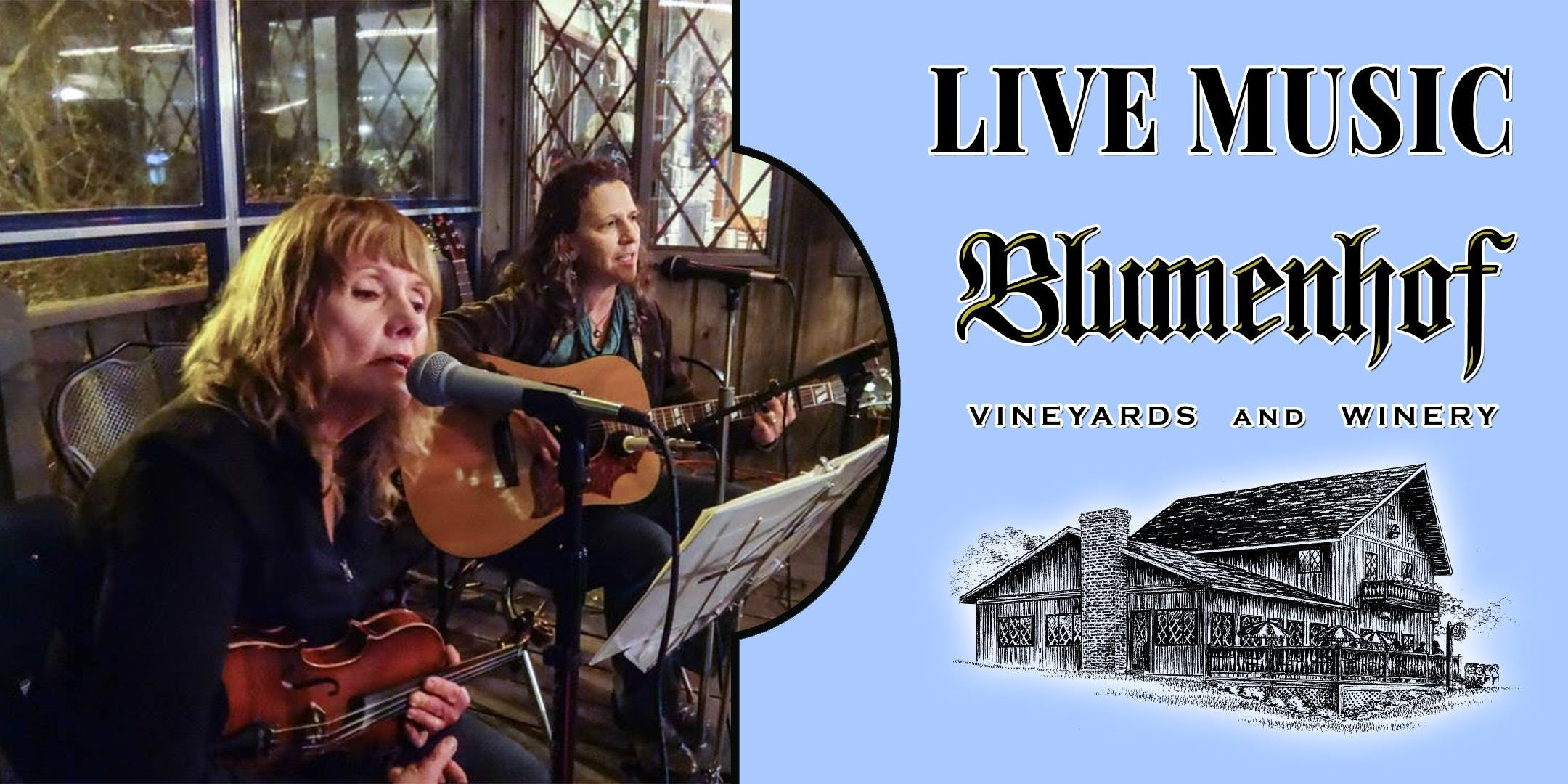 Downstream (folk music) at Blumenhof Winery