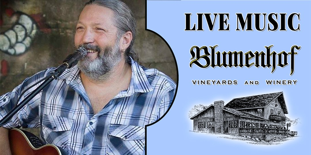 Jeff Walchshauser (classic rock) at Blumenhof Winery