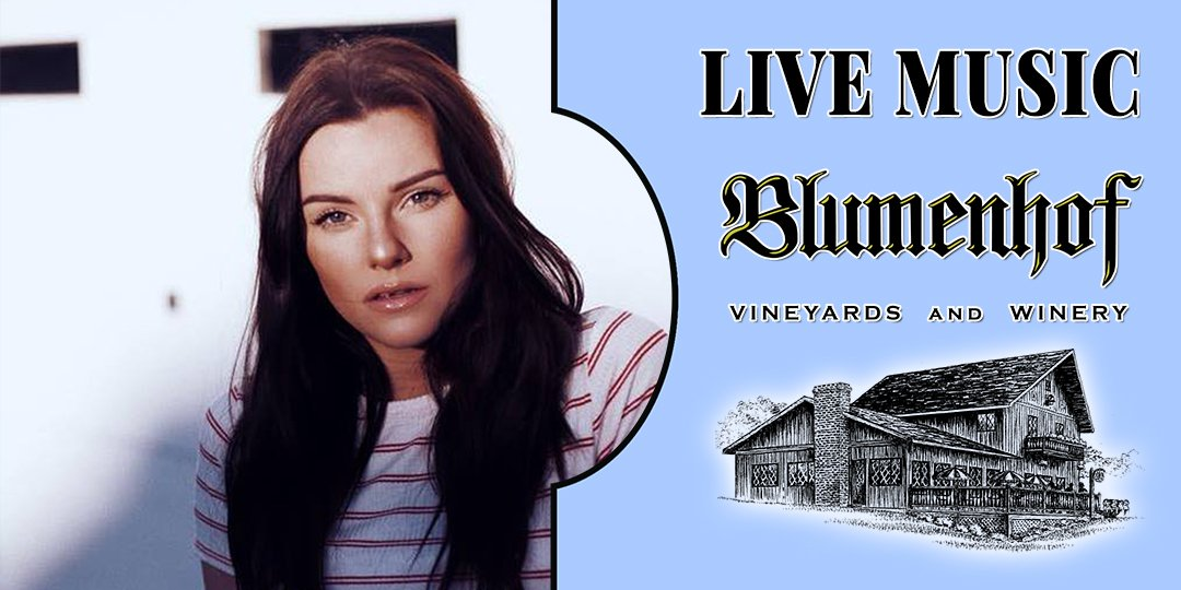 KG Lillian (indie acoustic music) at Blumenhof Winery