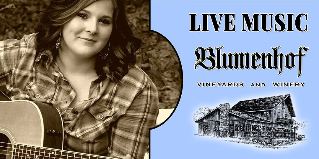 Marissa Harms at Blumenhof Winery