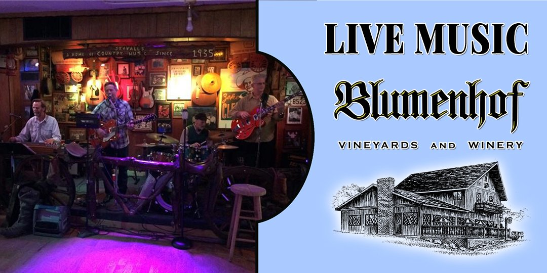 Roadhouse Kings (classic country band) at Blumenhof Winery