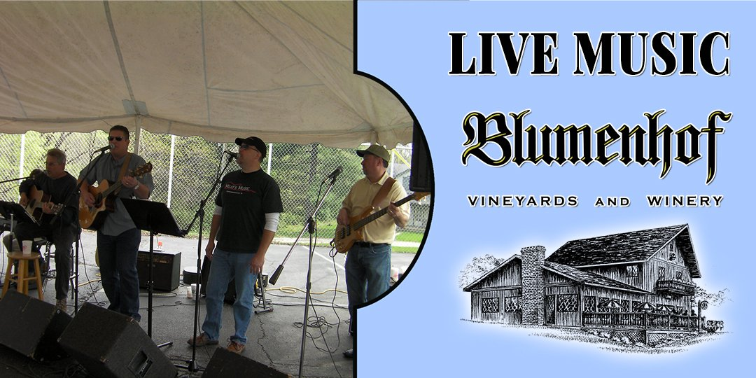 Schmitts and Grins (country/rock band) at Blumenhof Winery