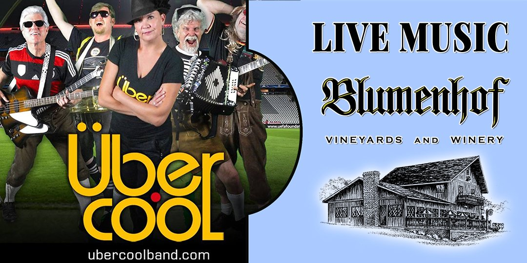 Ubercool (German party band) at Blumenhof Winery