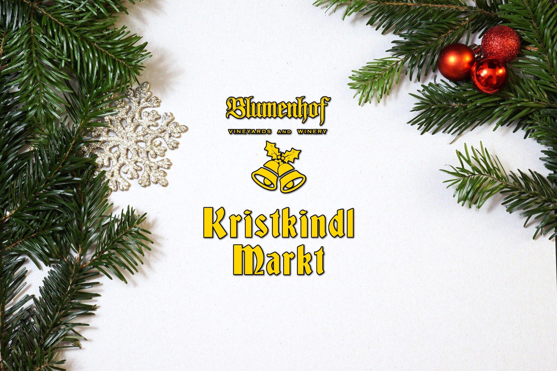 Kristkindl Markt at Blumenhof Winery 2018