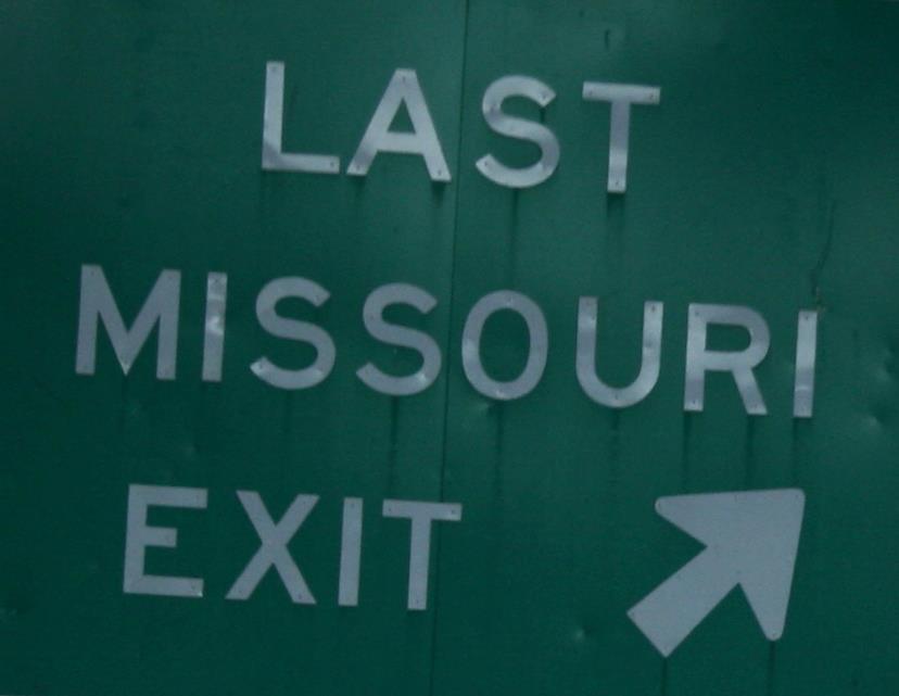Last Missouri Exit band
